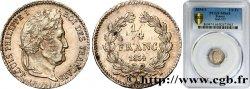 1/4 franc Louis-Philippe 1834 Limoges F.166/42 SPL64 PCGS