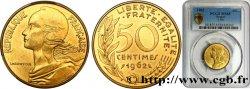 50 centimes Marianne, col à trois plis 1962 Paris F.197/2 FDC65 PCGS