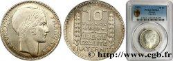 10 francs Turin 1939  F.360/10 SPL64 PCGS
