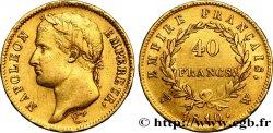40 francs or Napoléon tête laurée, Empire français 1810 Lille F.541/5 TTB42
