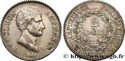 2 francs Napoléon Empereur, Calendrier révolutionnaire 1805 Lille F.251/35 TTB52