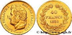 40 francs or Louis-Philippe 1834 Paris F.546/6 TTB52