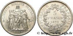 5 francs Hercule 1872 Paris F.334/6 AU55