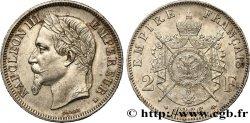 2 francs Napoléon III, tête laurée 1866 Strasbourg F.263/2 TTB52