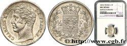1/2 franc Charles X 1829 Paris F.180/37 fST NGC