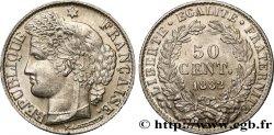 50 centimes Cérès, IIIe République 1882 Paris F.189/10 SUP62