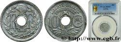 10 centimes Lindauer, petit module 1945 Castelsarrasin F.143/4 MS65 PCGS