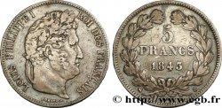 5 francs IIe type Domard 1843 Rouen F.324/101 TB35