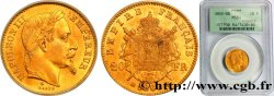 20 francs or Napoléon III, tête laurée, petit BB 1869 Strasbourg F.532/21 MS64 PCGS