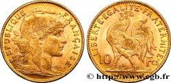 10 francs or Coq 1905 Paris F.509/6 SUP55