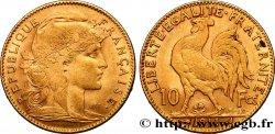 10 francs or Coq 1911 Paris F.509/12 SUP60
