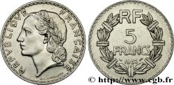 5 francs Lavrillier, nickel 1933  F.336/2 SUP55