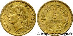 5 francs Lavrillier, bronze-aluminium 1947  F.337/9 TTB48