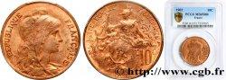10 centimes Daniel-Dupuis 1902  F.136/11 FDC65 PCGS