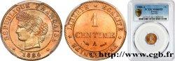 1 centime Cérès 1884 Paris F.104/11 FDC66 PCGS