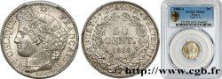 50 centimes Cérès, Troisième République 1888 Paris F.189/13 SPL64 PCGS