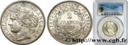 2 francs Cérès, avec légende 1895 Paris F.265/17 SUP62 PCGS