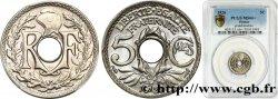 5 centimes Lindauer, grand module 1920  F.121/4 FDC66 PCGS