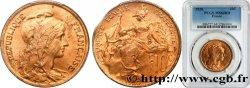 10 centimes Daniel-Dupuis 1920  F.136/29 SPL64 PCGS