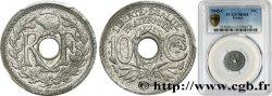 10 centimes Lindauer, petit module 1945 Castelsarrasin F.143/4 SPL64 PCGS