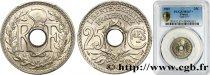 25 centimes Lindauer, Cmes souligné 1915  F.170/3 ST67 PCGS