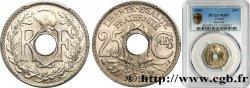 25 centimes Lindauer 1929  F.171/13 FDC67 PCGS