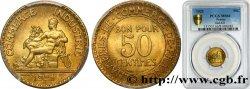 50 centimes Chambres de Commerce 1921 Paris F.191/3 FDC66 PCGS