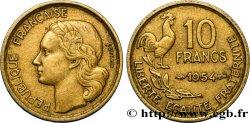 10 francs Guiraud 1954  F.363/10 TB20