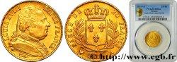 20 francs or Louis XVIII, buste habillé 1814 Paris F.517/1 SUP62 PCGS