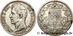 5 francs Charles X, 2e type 1829 Lyon F.311/30 BC25