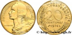 20 centimes Marianne 1974 Pessac F.156/14 MS68