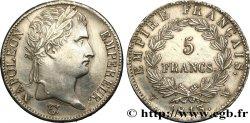 5 francs Napoléon Empereur, Empire français 1813 Lille F.307/75 TTB+