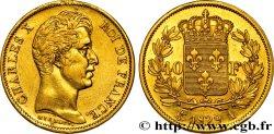 40 francs or Charles X, 2e type 1829 Paris F.544/4 TTB50