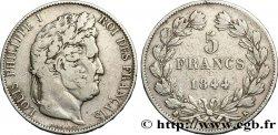 5 francs IIIe type Domard 1844 Bordeaux F.325/4 VF20