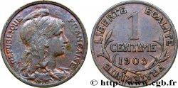 1 centime Daniel-Dupuis 1909 Paris F.105/11 AU50