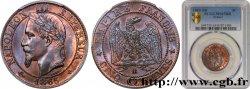 Cinq centimes Napoléon III, tête laurée 1865 Strasbourg F.117/15 FDC65 PCGS