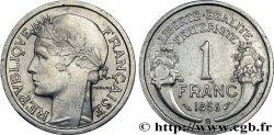 1 franc Morlon, légère 1958 Beaumont-Le-Roger F.221/22 AU55