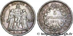 """5 francs Hercule, dite """"Camélinat"""" 1871 Paris F.334/3 VF35"""