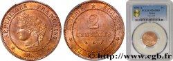 2 centimes Cérès 1892 Paris F.109/18 FDC65 PCGS