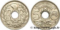 5 centimes Lindauer, maillechort, avec étoile 1938  F.123/1 SUP55