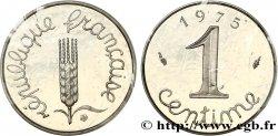 Piéfort argent de 1 centime Épi 1975 Pessac F.106/27P FDC