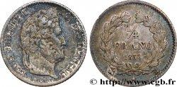 1/4 franc Louis-Philippe 1838 Rouen F.166/70 TTB45