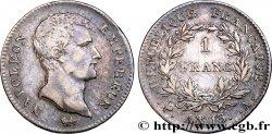 1 franc Napoléon Empereur, Calendrier révolutionnaire 1805 Paris F.201/14 TTB45