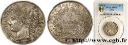 2 francs Cérès, avec légende 1870 Paris F.265/2 SPL63 PCGS