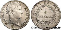 5 francs Napoléon Empereur, Empire français 1812 Rouen F.307/42 TTB+