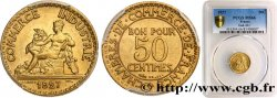 50 centimes Chambres de Commerce 1927 Paris F.191/9