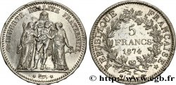 5 francs Hercule 1874 Paris F.334/12