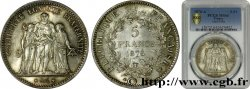 5 francs Hercule 1876 Paris F.334/17