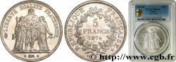 5 francs Hercule 1874 Bordeaux F.334/13