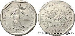 2 francs Semeuse, nickel 1980  F.272/4